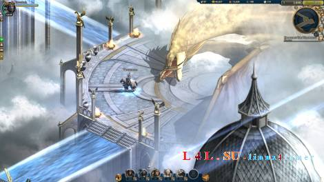 Heroes Online - impressive MMORPG game in Linux Mint
