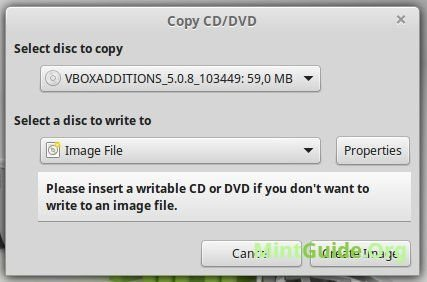 How To Create The Disk Image Iso In Linux Mint Mintguideorg