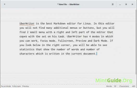 UberWriter - probably the best Markdown editor for Linux