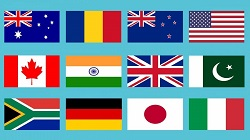 Country flags in the language indicator (Mate)